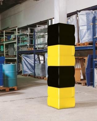 H.22692 - Pfeiler-Schutzprofil 300 PE schwarz