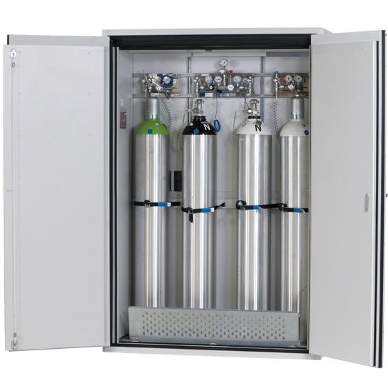 Gasflaschenschrank G-ULTIMATE-90 Modell G90.205.140, 4 Gasflaschen à 50 Liter, EN 14470-2