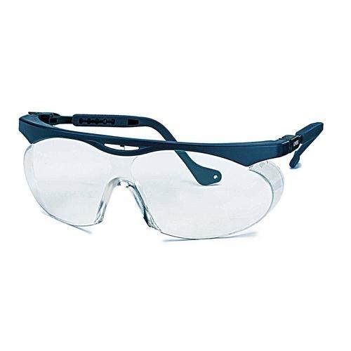 uvex Schutzbrille 9195065 skyper blau, PC farblos, kratzfest, chemikalienbeständig