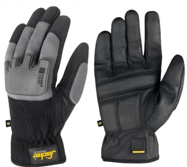 Snickers Workwear 9585 Power Core Handschuhe, schwarz/steingrau