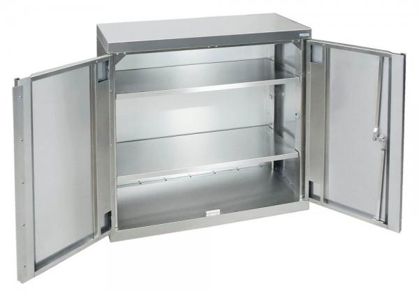 STM-CabinOX Edelstahl-Aufbewahrungsschrank, 900 x 900 x 400 mm, Stellschrauben
