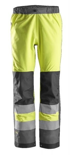 Snickers Workwear 6530 AllroundWork, High-Vis WP Shell Arbeitshose, EN 20471 Klasse 2