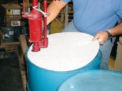 Öl-Sorbents Bindemittel Premium 25 Fassauflagen
