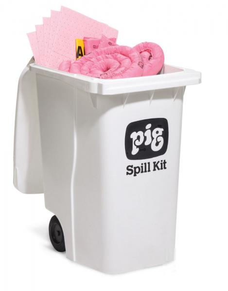 Fahrbarer Notfallkitt Container - Groß Chemikalien KITE303