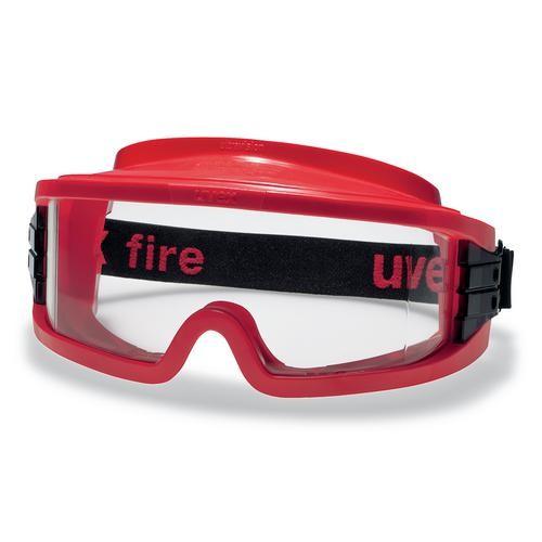 uvex Vollsichtbrille 9301633 ultravision, rot, PC farblos, kratzfest, beschlagfrei