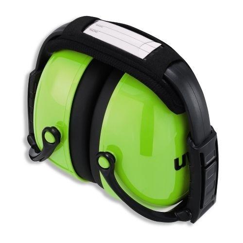 uvex Kapselgehörschutz K2 faltbar, neon lime, 31 dB