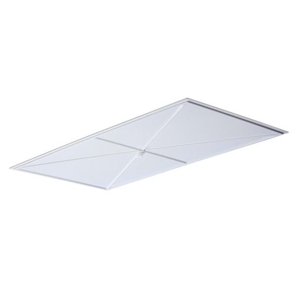 Deckenplatten-Umleiter 61 x 122 cm, weiß, TLS367