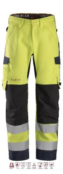 Snickers Workwear 6563 ProtecWork wasserdichte Softshell-Arbeitshose, antistatisch, Klasse 2