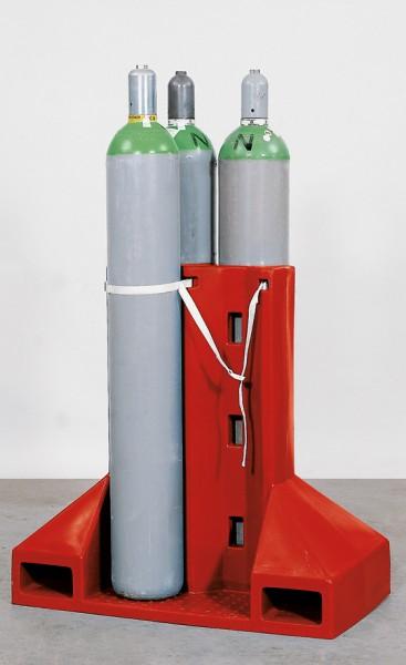PE-Transportgestell für 4 Gasflaschen Ø 230 mm