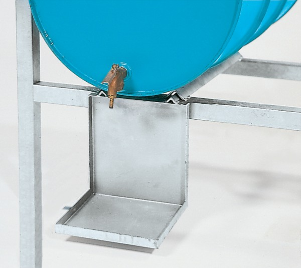 Kannenträger Stahl verzinkt für Abfüllstationen