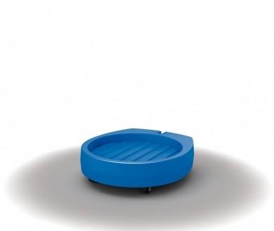 Fassroller PE (Polyethylen) ohne Deichsel 740x800x200