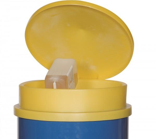 Fasstrichter mit Deckel KFT-D aus Polyethylen (PE) für 200-Liter-Fass