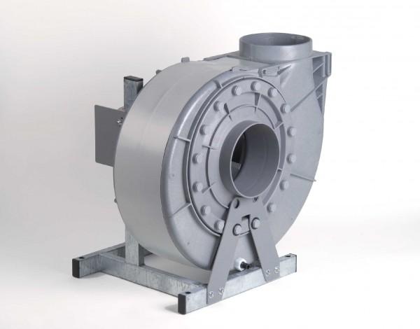 Radialventilator FRv 200/225/6/D/EX, EEx e II T 3, 90 - 1090 m³/h, 6-polig