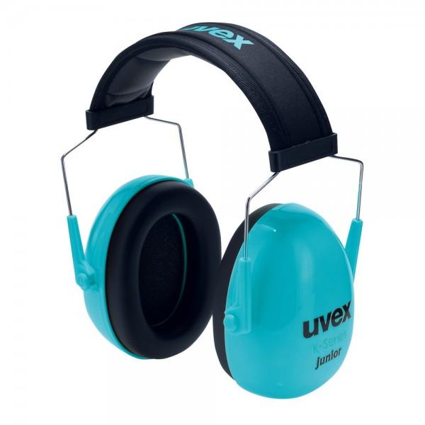 uvex Kapselgehörschutz K Junior mit verkürztem Kopfband, 29 dB