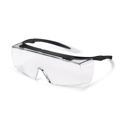 uvex Überbrille super f OTG, 9169585, schwarz/weiß, PC farblos, kratzfest