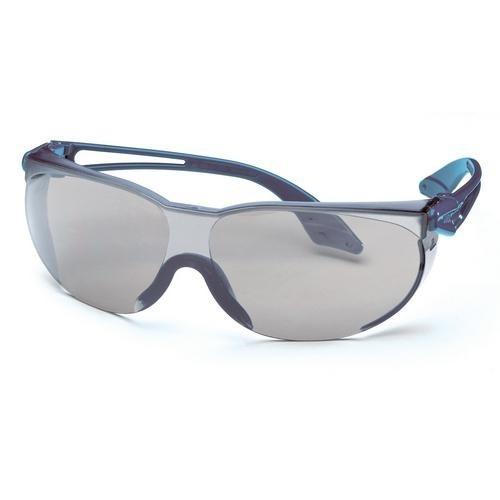 uvex Schutzbrille 9174066 skylite blau, PC grau, kratzfest, chemikalienbeständig