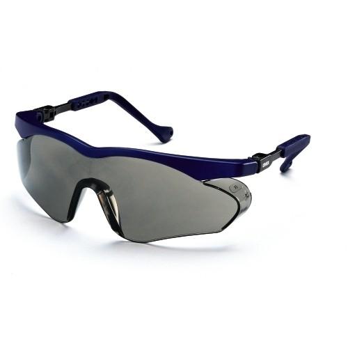 uvex Schutzbrille 9197266 skyper sx2, blau, PC grau, beschlagfrei, kratzfest