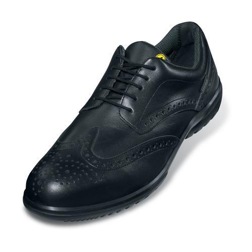 Sicherheitsschuhe uvex business casual Halbschuhe S1P SRC, Modell 9512, schwarz