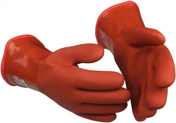 Chemikalien-Schutzhandschuhe 146 Guide Winter Gr. 10, Acryl-Fleecefutter, PVC-Beschichtung