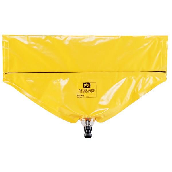 Leckagen-Umleiter 76 x 47 cm gelb, TLS147, für Horizontale Rohre