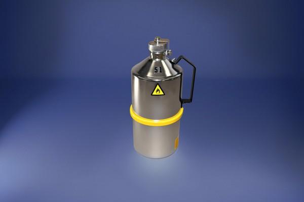 Original Salzkotten Sicherheits-Laborkanne Typ 100, 5 Liter mit Schraubkappe, UN-Zulassung