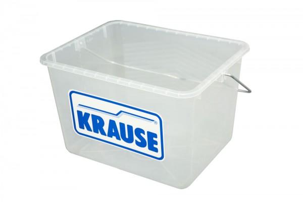 Krause MONTO MultiGrip System-Eimer Transparent, 8 Liter