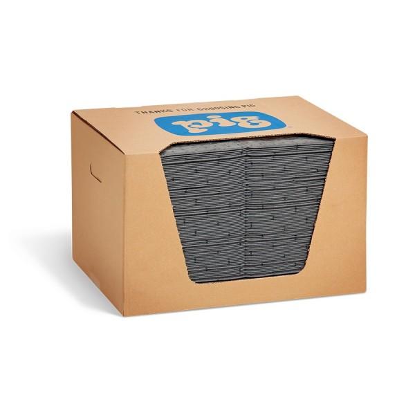 Universal Saugmatten Heavy-Weight, grau, 25 x 33 cm, 100 Matten im Karton