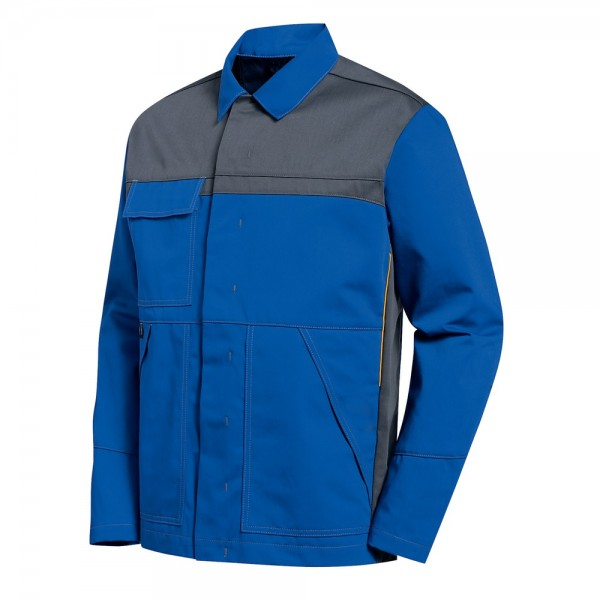 uvex Schutzbekleidung banwear+ Herren-Jacke kornblau/grau Modell 8895