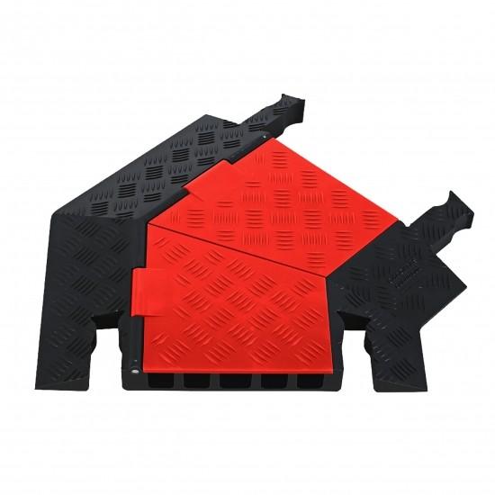 Checkers Guard Dog General Purpose 5-Kanal-Kabelschutz Kurve Rechts, 62x50x5cm