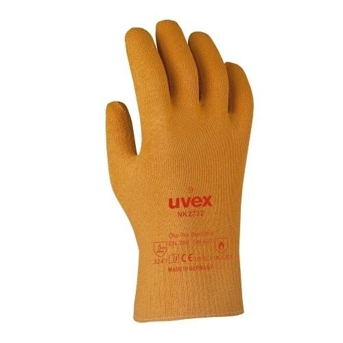 uvex Nitril/Kevlar Schutzhandschuhe NK2722 mit Stulpe 27 cm, vollbeschichtet, thermische Risiken