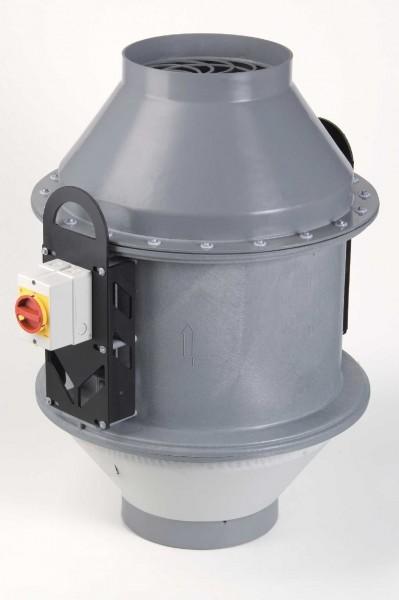Dachventilator FDv 160/2/4/PTC, 90 - 1260 m³/h, 2/4-polig, Trichterausführung
