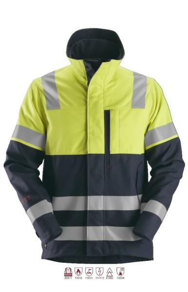 Snickers Workwear 1560 ProtecWork Signal-Schweißerjacke, Flammschutz, antistatisch, Klasse 1