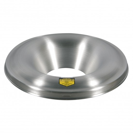 Justrite Aluminiumkopf für Cease-Fire® Abfallbehälter 200 L