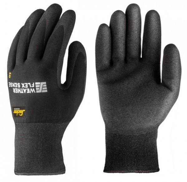 Snickers Workwear 9319 WETTER Flex Sense Schutzhandschuhe schwarz für den Winter
