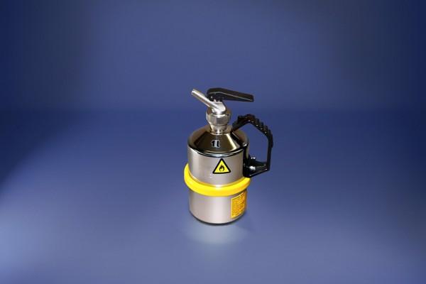 Original Salzkotten Sicherheits-Laborkanne Typ 102, 1 Liter mit Feindosierer
