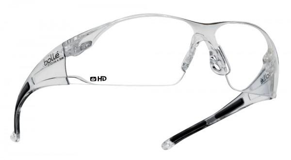 bolle Schutzbrille RUSH - RUSHDPI mit HD PC und Panorama-Sichtfeld