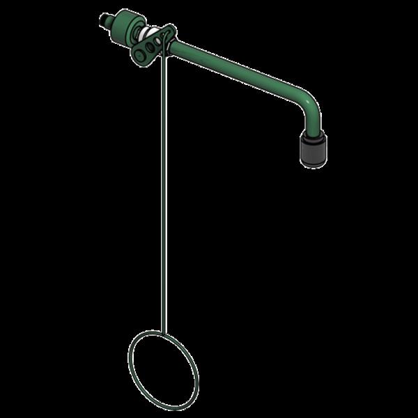B-Safety ClassicLine Körper-Notdusche BR 081 085 mit Betätigung, Wandmontage Unterputz