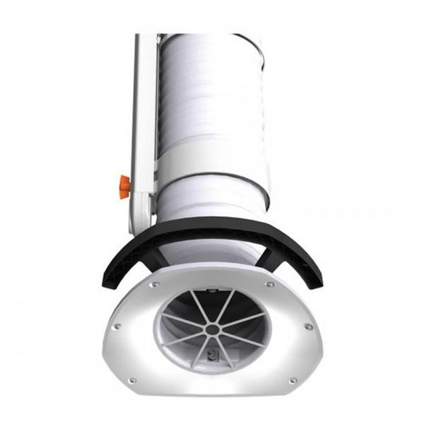 Fumex Absaugarm Typ PR 4000, Edelstahl, Wandkonsole, Schweißarbeiten in der Industrie