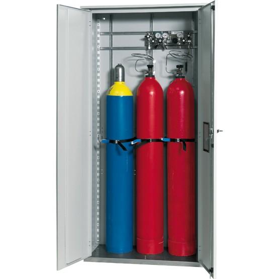 Gasflaschenschrank G-OD Modell GOD.215.100 für 3 x 50-Liter-Gasflaschen für Außenbereich