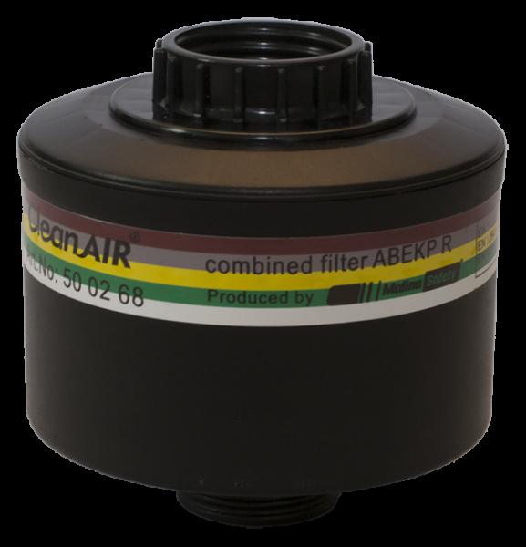 "CleanAIR Kombinationsfilter A2B2E2K2P3 mit zwei Gewinden RD40×1/7"""