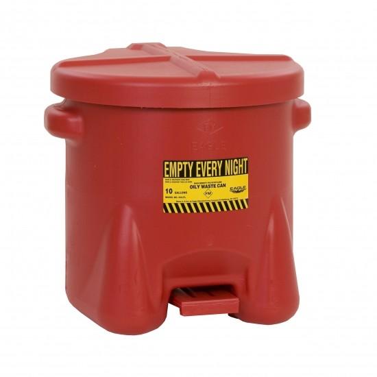 Eagel Entsorgungsbehälter 935FL, 37,9 L, Polyethylen (PE), mit Fußpedal