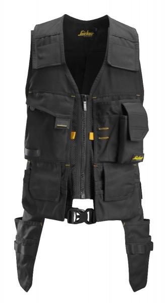 Snickers Workwear 4250 AllroundWork Werkzeugweste schwarz