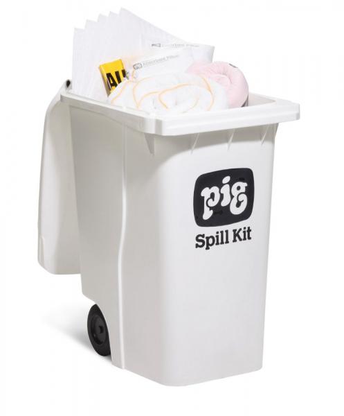 Fahrbarer Notfallkitt Container - Groß Oil-Only KITE403