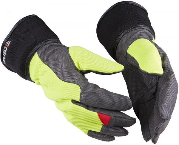 Schutzhandschuhe 5148 Guide Winter aus Synthetikleder, HiVis, wind- und wasserdicht