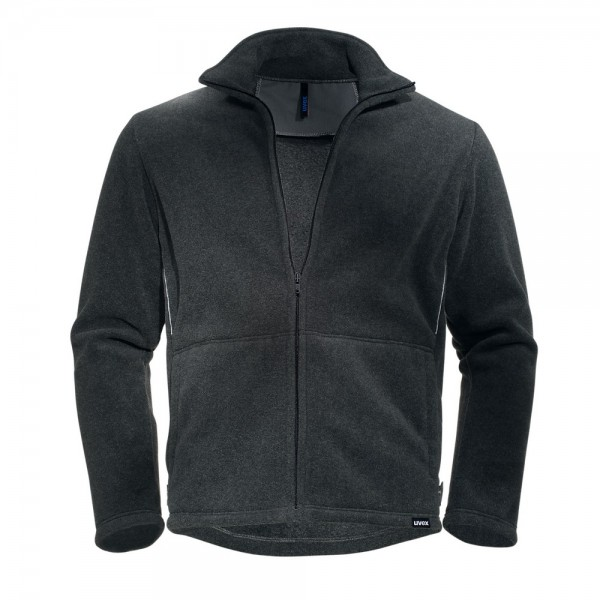 uvex Berufsbekleidung perfect Fleecejacke grau Modell 8905