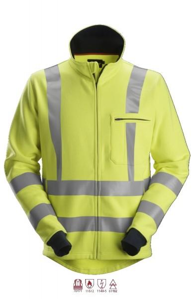 Snickers Workwear 2864 ProtecWork Reißverschluss Sweatshirt, antistatisch, Warnschutz Klasse 3