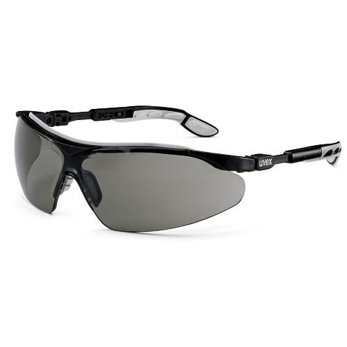 uvex Schutzbrille i-vo, 9160076, schwarz/grau, PC grau, Sonnenschutz