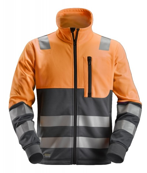 Snickers Workwear 8035 AllroundWork High-Vis Fleece-Jacke, EN 20471 Klasse 2