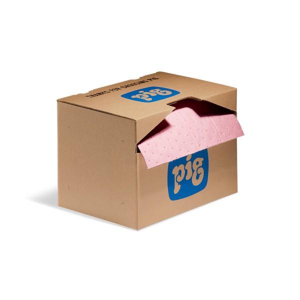 HazMat Rip & Fit Saugrollen, Heavy, rosa, 38 cm x 18 m, 1 Rolle im Karton