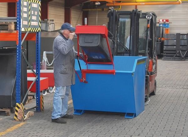Bauer Schwenkvorrichtung Typ SV 1000 für Kippbehälter Typ GU 1000